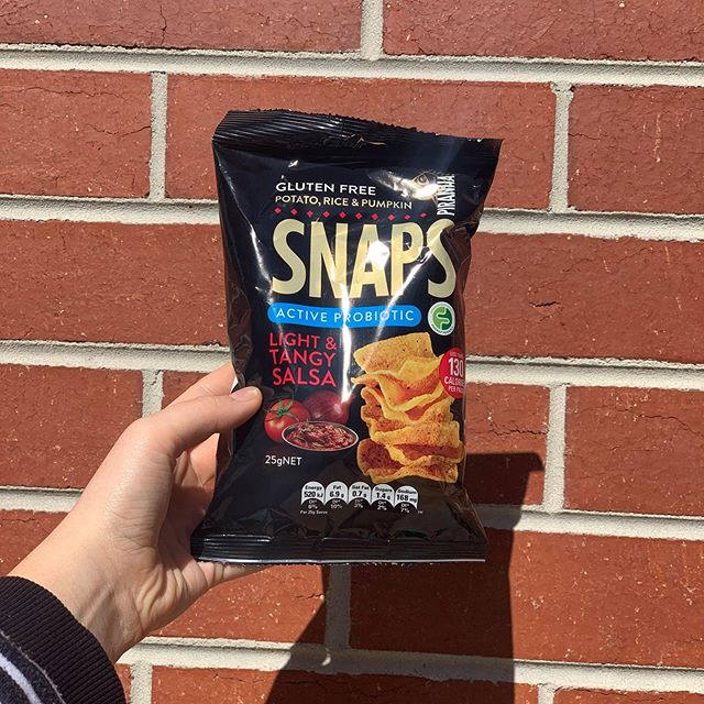 Gluten free chips from piranha snaps